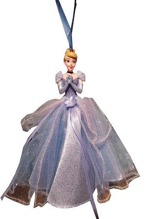 Christmas Ornament - Princess Cinderella - Tulle Gown