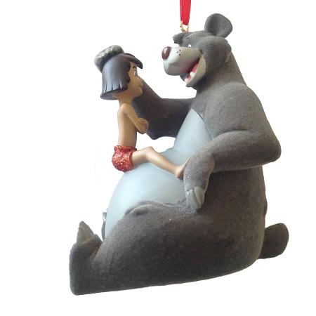 Christmas Ornament  Baloo and Mowgli  Jungle Book