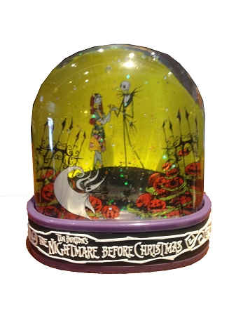 Disney Snow Globe - Nightmare Before Christmas - Jack Skellington
