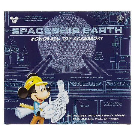 Epcot Spaceship Earth Toy Disney Playset - Epcot...