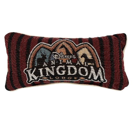 Disney Throw Pillow - Animal Kingdom - Logo