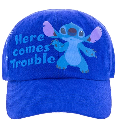 hat baseball cap stitch here comes trouble disney hats sale personalized