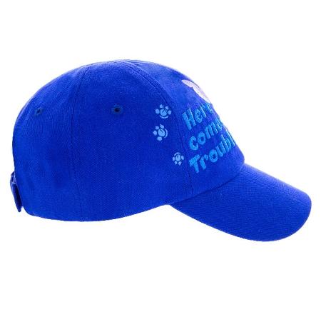 Disney Hat - Baseball Cap - Stitch - Here Comes Trouble  Stitch Cap