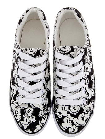 Disney Tennis Shoes For Women Classic Mickey Mouse