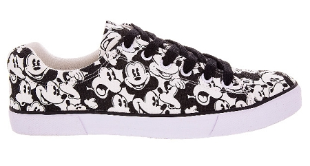 disney canvas shoes for classic mickey mouse