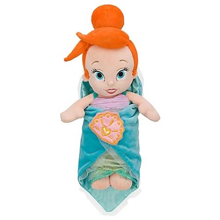 Disneys Babies Plush Ariel Toy And Blanket