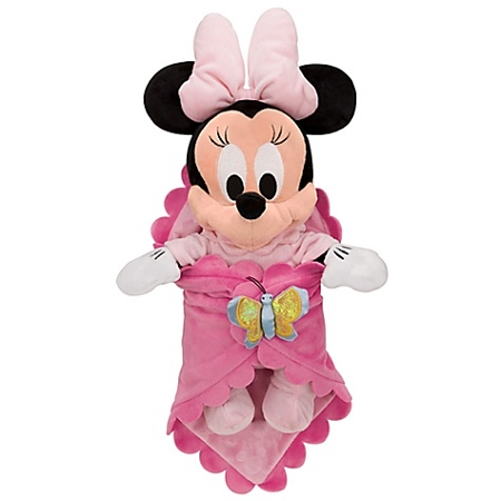 Disney S Babies Plush Minnie Mouse Plush Toy And Blanket