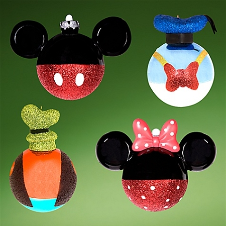 Disney christmas ornament set best of mickey mickey mouse and pals