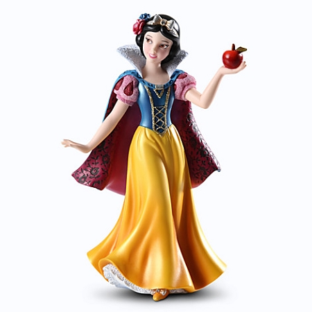 disney couture de force figurine princess snow white by enesco. Black Bedroom Furniture Sets. Home Design Ideas