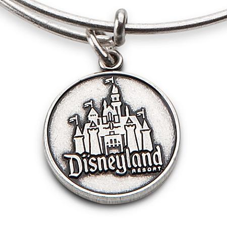 disney alex and ani charm bracelet disneyland castle