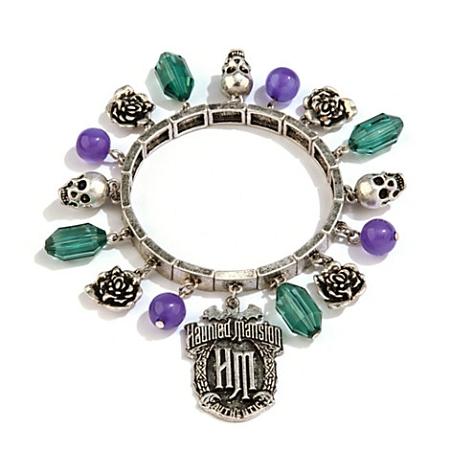 disney charm bracelet the haunted mansion icons