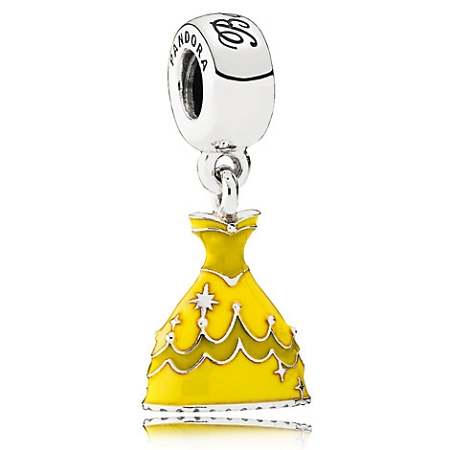 Disney Pandora Charm Belle Dress Beauty And The Beast