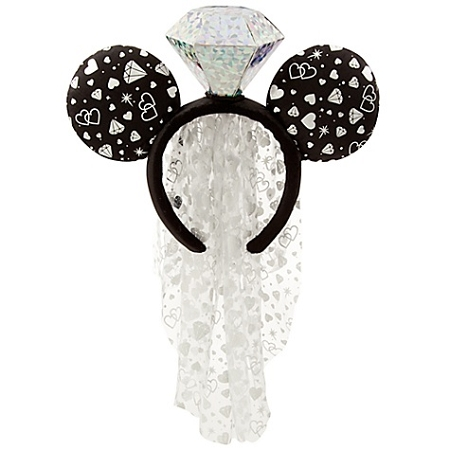 disney headband hat wedding ring minnie mouse with veil