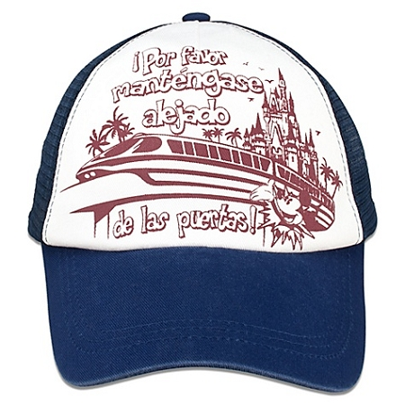 baseball cap espanol hat monorail que significa en diccionario ingles