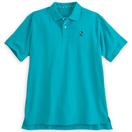 disney polo shirt for men classic mickey mouse teal