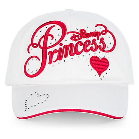 disney baseball hats womens world hat girls princess cap white