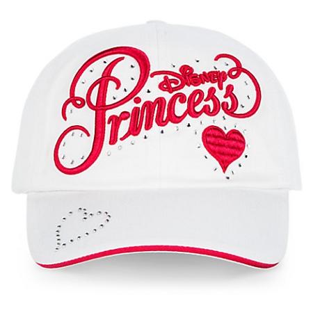 disney baseball hats womens world hat girls princess cap white