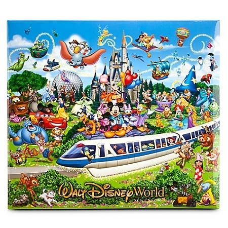 Disney Scrapbook Album Storybook Walt World