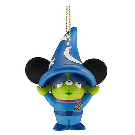 Disney Christmas Ornament - Sorcerer Hat Toy Story Space Alien
