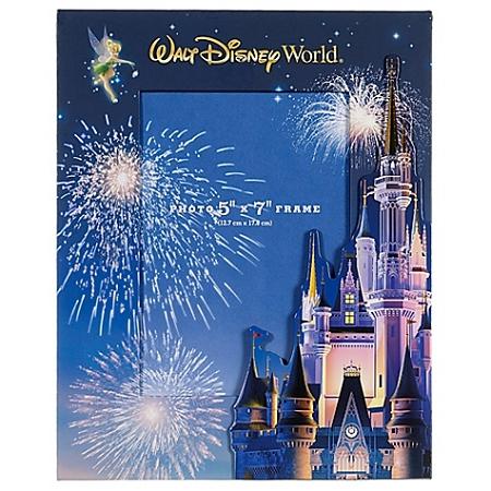 disney photo frame walt disney world cinderella castle adjustable - Disney World Picture Frames