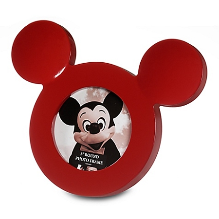 disney photo frame mickey mouse icon red 3 - Mickey Mouse Photo Frame