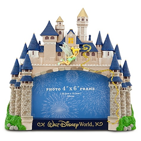 disney photo frame walt disney world cinderella castle 4 x 6 - Disney World Picture Frames