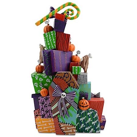 Disney Figurine - Stack of Presents - Nightmare Before Christmas