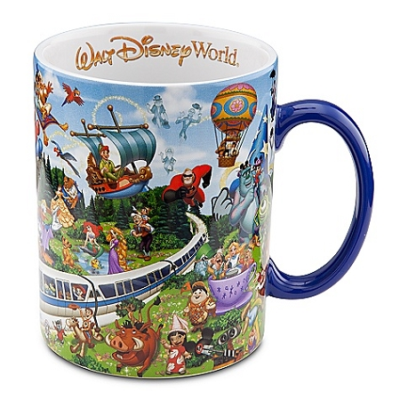 Disney Coffee Mug Storybook Walt World