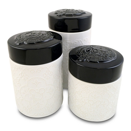 Mickey Mouse Kitchen Canister Set