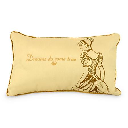 Disney Throw Pillow - Cinderella - Dreams Do Come True