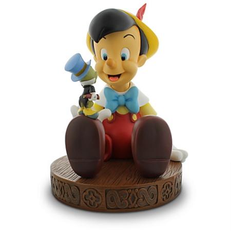 Disney Medium Figure Statue Pinocchio And Jiminy Cricket