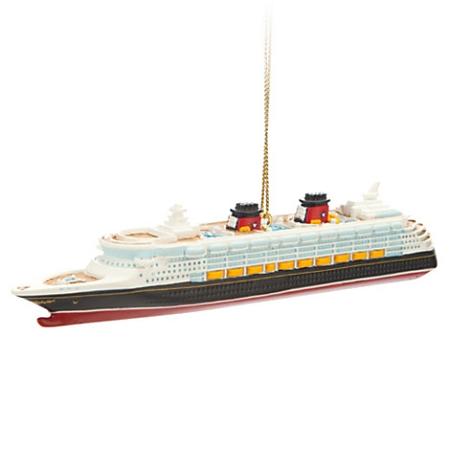Christmas Ornament Disney Cruise Line Wonder - Alex and ani cruise ship