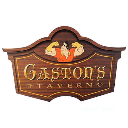 Disney Wall Sign Gaston 39 S Tavern Beauty And The Beast