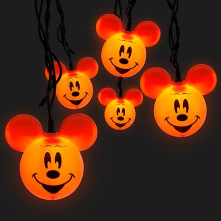 disney halloween lights mickey mouse pumpkin lights - Halloween Pumpkin Lights