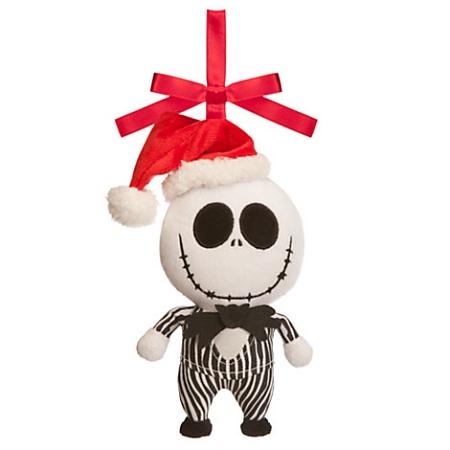 Disney christmas ornament jack skellington plush - Jack skellington christmas decorations ...