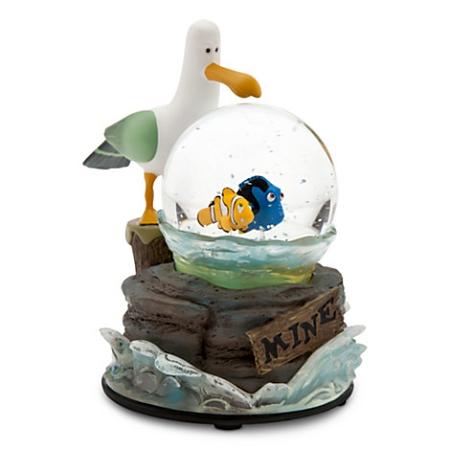 Disney Snow Globe Finding Nemo Mine Mine