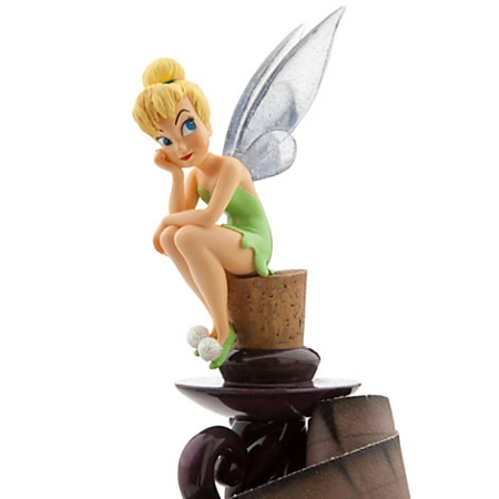 Disney medium figure statue tinker bell with candle and map - Tinkerbell statues ...