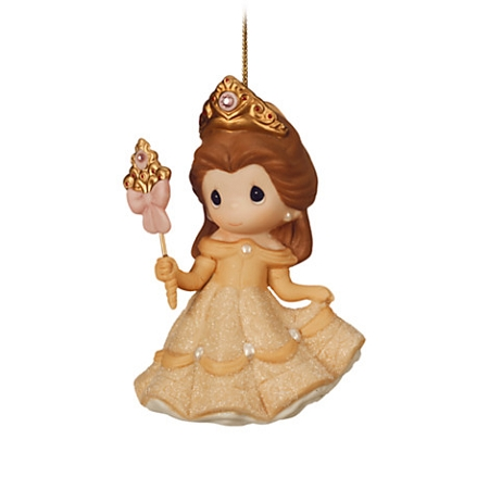 Disney Precious Moments Ornament Belle Beauty Shines From Within