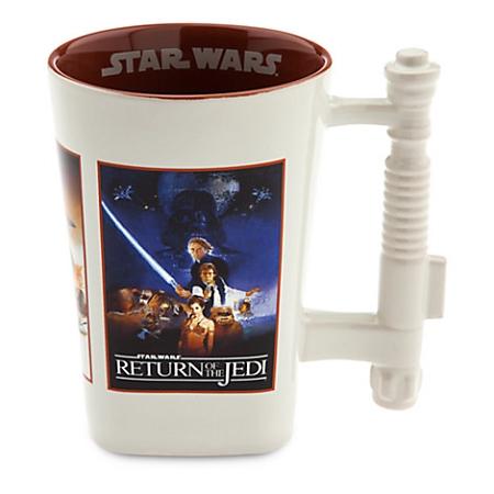 disney coffee mug star wars saga movie poster. Black Bedroom Furniture Sets. Home Design Ideas