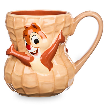 disney coffee cup mug chip and dale peanut. Black Bedroom Furniture Sets. Home Design Ideas