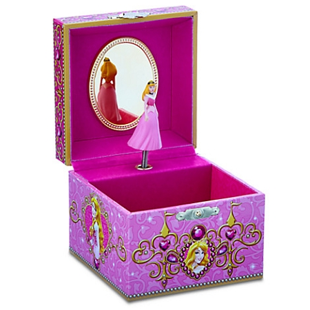 disney musical jewelry box aurora sleeping beauty