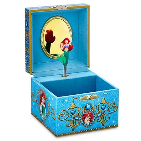 Disney Musical Jewelry Box Ariel The Little Mermaid