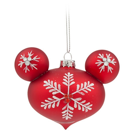 Disney Ornament Topper Set Happy Holidays Mickey Mouse Tear Drop - Mickey Mouse Christmas Tree Topper