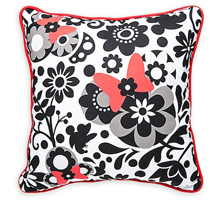 Disney Throw Pillow Minnie Mouse Floral