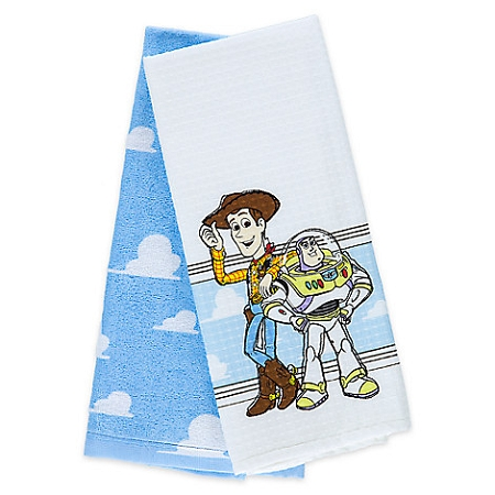 Kitchen Towel Set - Woody and Buzz - Toy Story
