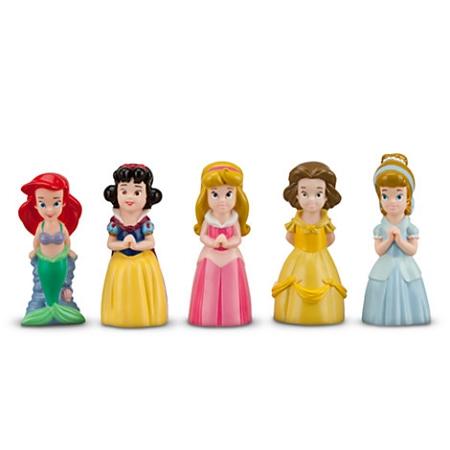 Disney Play Set Princess Squeeze Toy Set 5 Princesses