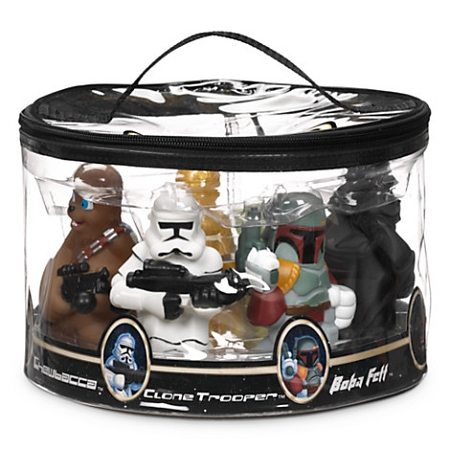 disney play set - star wars squeeze bath toy set