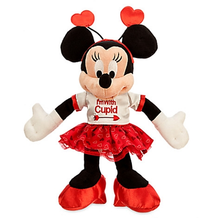 valentine's day plush - minnie mouse - i'm with cupid, Ideas