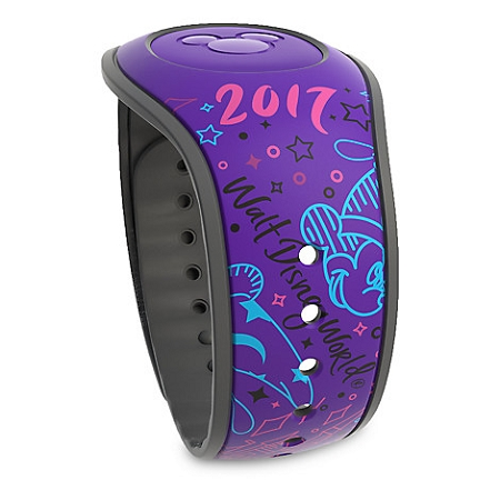 Disney Magic Band 2 - Sorcerer Mickey Mouse 2017 - Purple