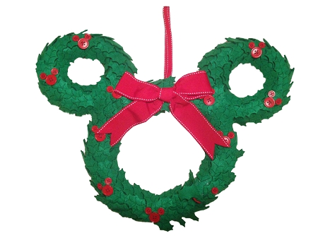 Disney door wreath